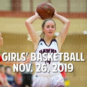 Prairie Girls Basketball, Nov. 26, 2019