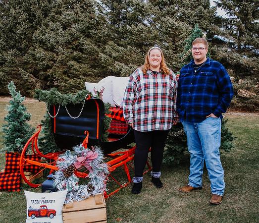 Heather Peltonen old sleigh