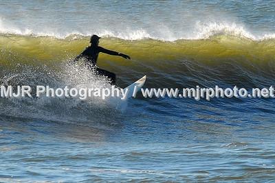 Surfing, Gilgo Beach, NY, (11-10-06)