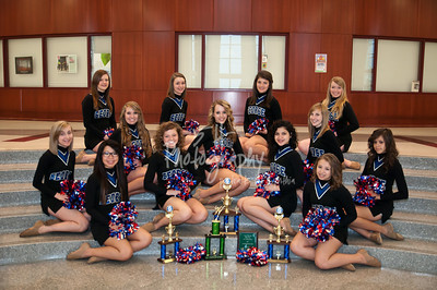 George JH Dance Team 2011-2012