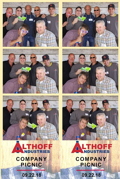 """Althoff Industries """"Company Picnic 2018"""""""