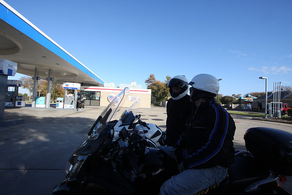 Dallas send off ride (Baja) for Danny November '10