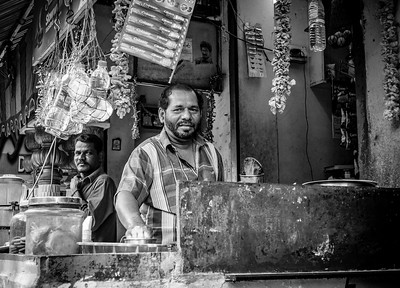 Scenes in Chennai, March 2018 B&W - part 2