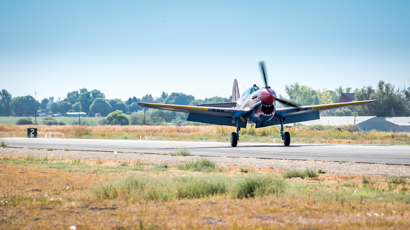 P-40 Warhawk Full Flaps