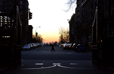 Dawn, Seen From Columbia University