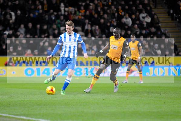 Hull City v Brighton 16 - 02 - 16