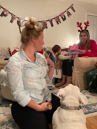2020 December Josie Boone's 2nd Birthday