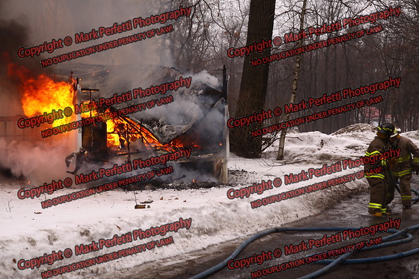 KO-Z Mobile Home Park Trailer Fire, Route 29A,( Turkey Farm Road ) 3-11-2009