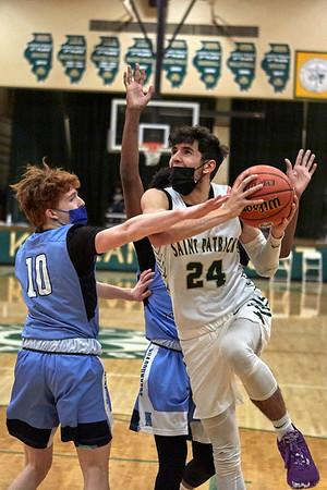 2021-02-12 Basketball vs. Nazareth
