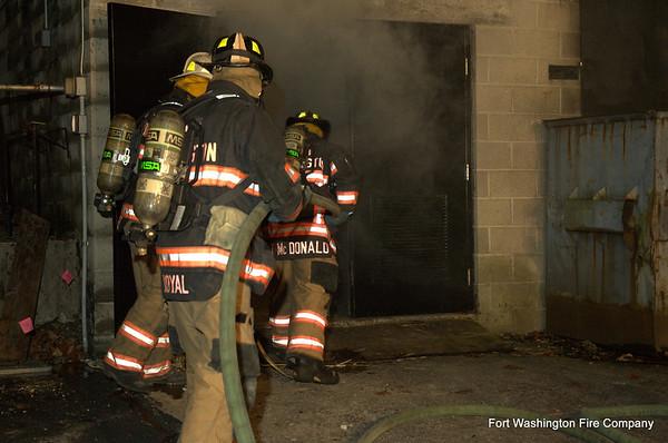 Burn Drill - October 26, 2009