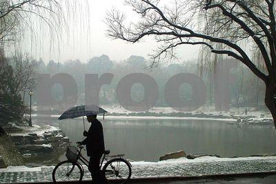 Beijing University in the Snow