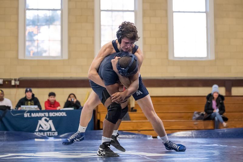 Wrestling vs. Milton 1.8.20