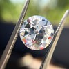3.69ct Old European Cut Diamond GIA E VS2 22