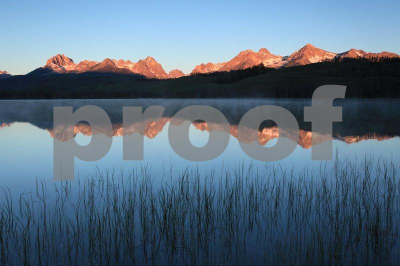 Sawtooth Mountains Little Redfish Lake 1561
