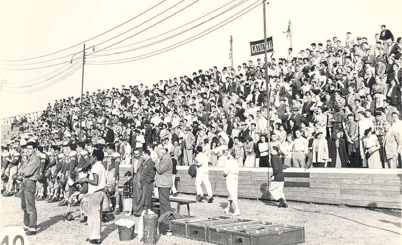 1948, Cathedral Football Fans