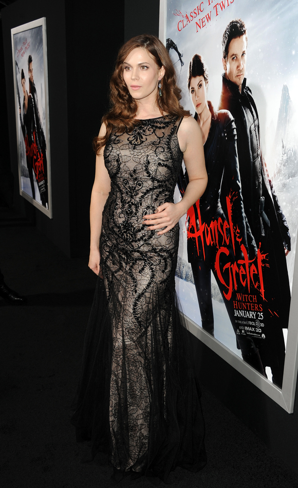 ". Actress Pihla Viitala arrives for the Los Angeles premiere of Paramount  Pictures\' ""Hansel And Gretel Witch Hunters\"" at TCL Chinese Theatre on January 24, 2013 in Hollywood, California.  (Photo by Kevin Winter/Getty Images)"