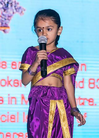 14_Nur. B girls perform Lavni from Maharashtra