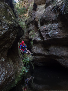 Glen Davis Canyoning Mar 2016