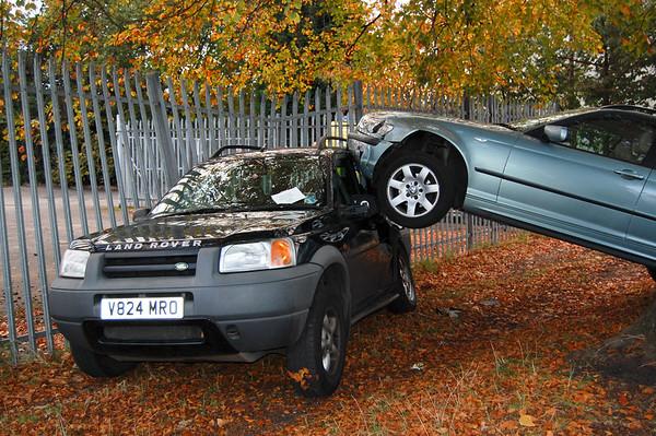 Car crash Moorside Road