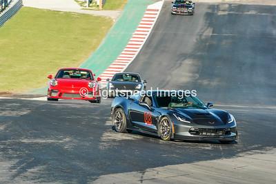 #08 Gray Corvette GS