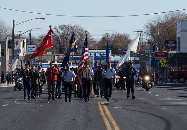 2018 Susanville Veterans Day Parade