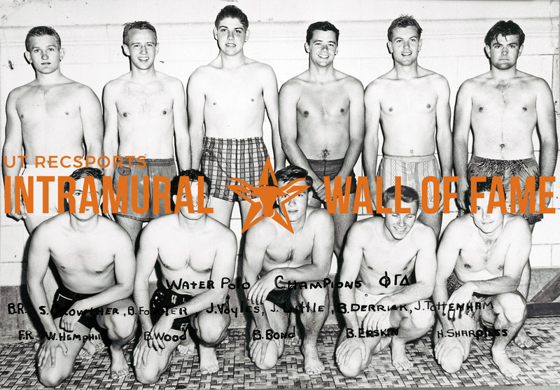 Intramural Champs 1953-54