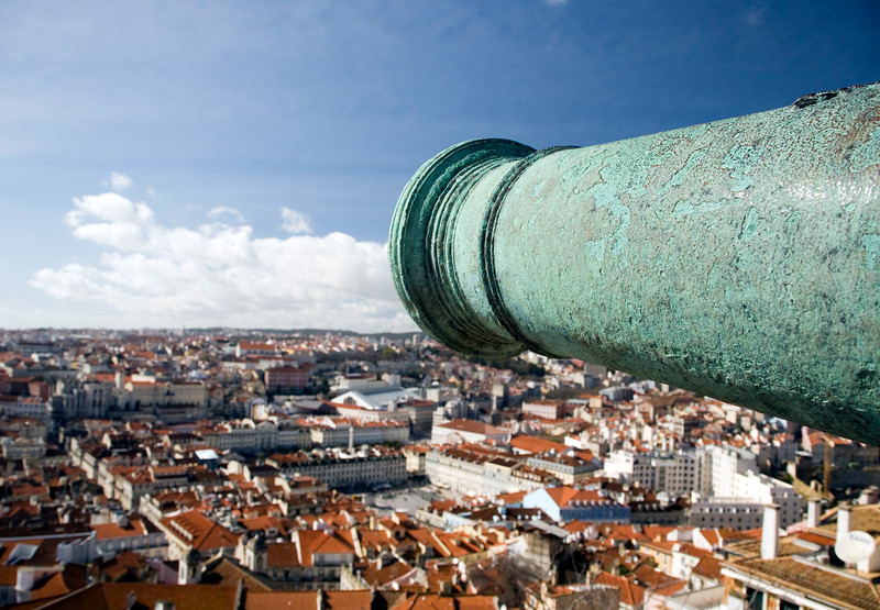 View of Lisbon from Saint George Castle