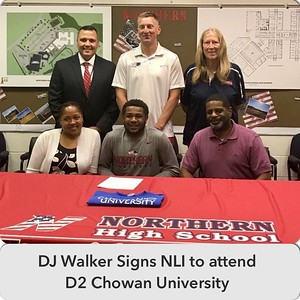2017 NCAA NIL Signing_DJ Walker
