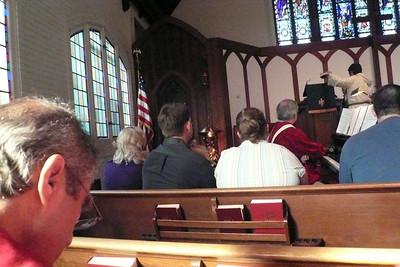 Hannah's Baptism October 23, 2011