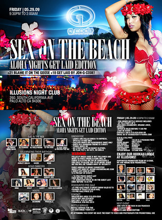 Sex on the Beach @ Illusions - 05.29.09
