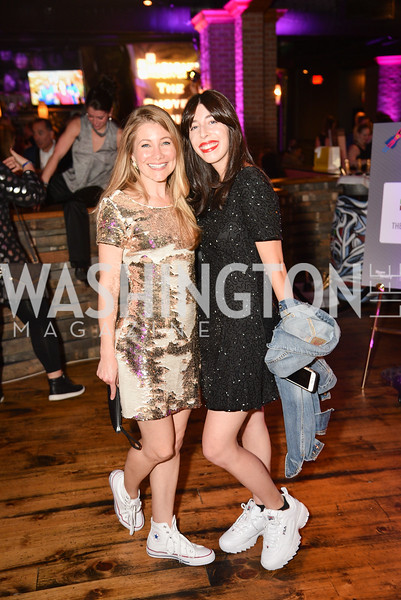 Melanie Cherner, Jess Cherner,  Hope for Henry, 15th Anniversary Extravaganza, ' Sparkles and Sneakers', City Winery in Ivy City. October 20, 2018, photo by Ben Droz.