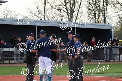 Baseball vs SCHS  4/9/19