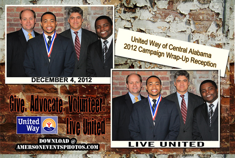 United Way Wrap Up Party 2012