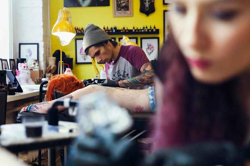 Ilya Lebed Tattoo Artist. Saint Petersburg, 2019.