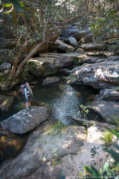 Angorawa Creek boulders
