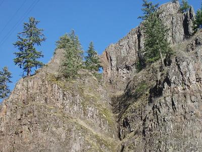 South Fork and Memaloose Creek Falls