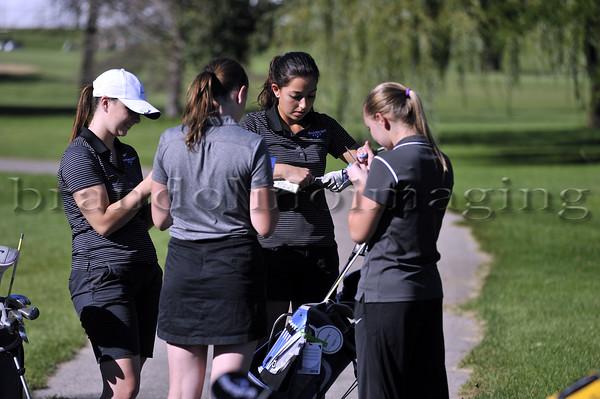 Lincoln-Way East Varsity Women's Golf 2014