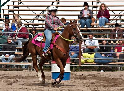 4h District Horse Show 09/17/11 Barrel Ponies