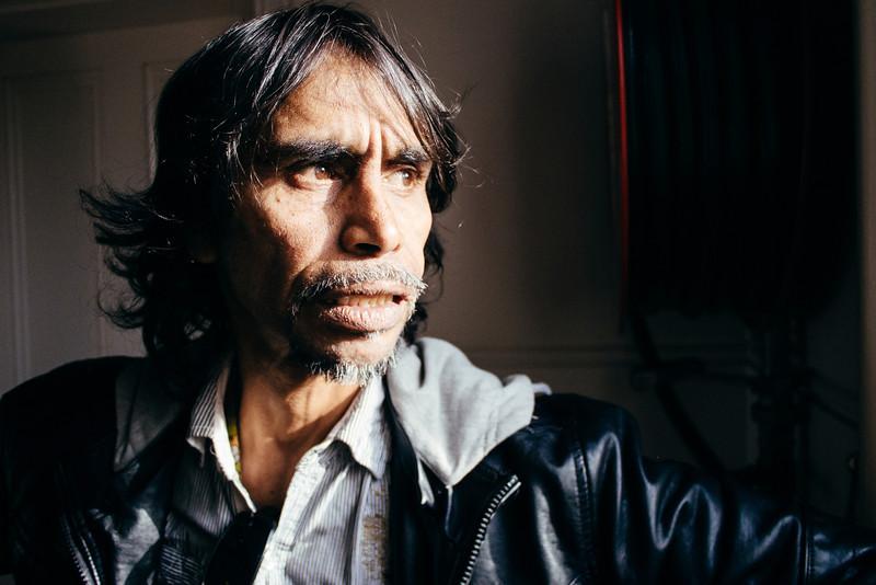 Indigenous Australian Man in his Late 40s