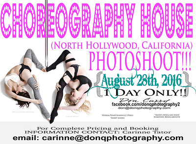 Choreography House (North Hollywood, California) 082816
