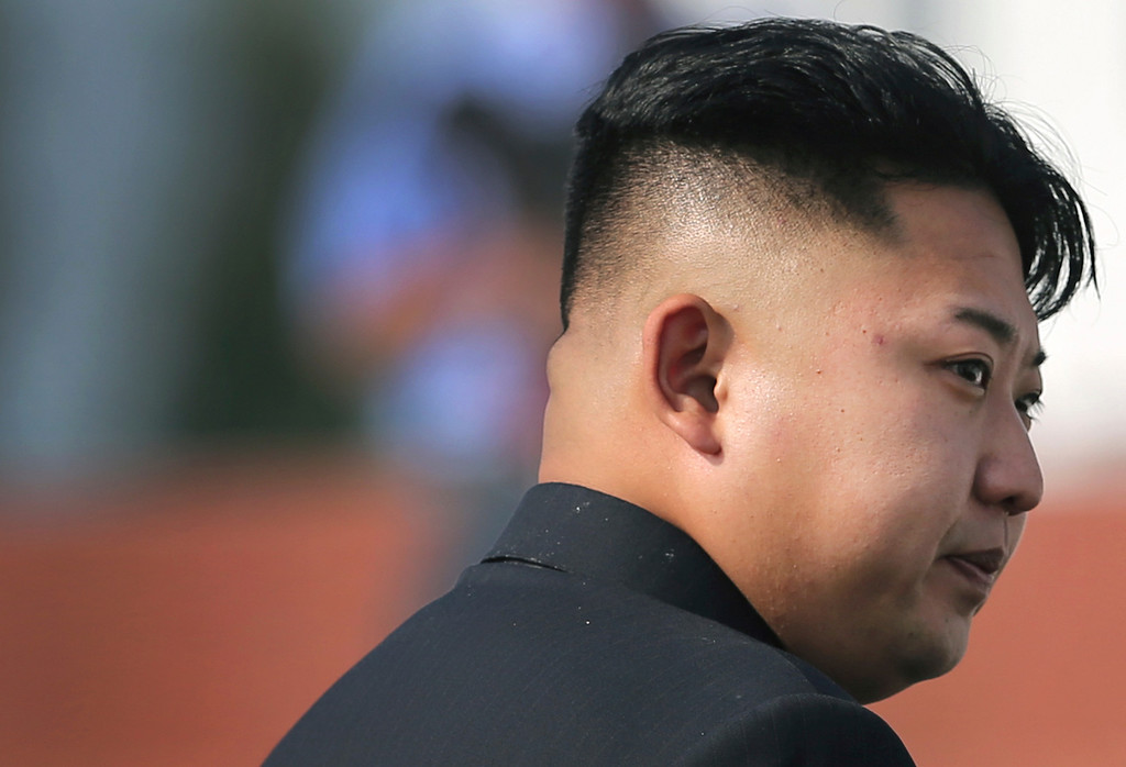 . North Korean leader Kim Jong Un arrives at the cemeteries of fallen fighters of the Korean People\'s Army (KPA) on Thursday, July 25, 2013 in Pyongyang, North Korea as part of ceremonies marking the 60th anniversary of the signing of the armistice that ended hostilities on the Korean peninsula. (AP Photo/Wong Maye-E)