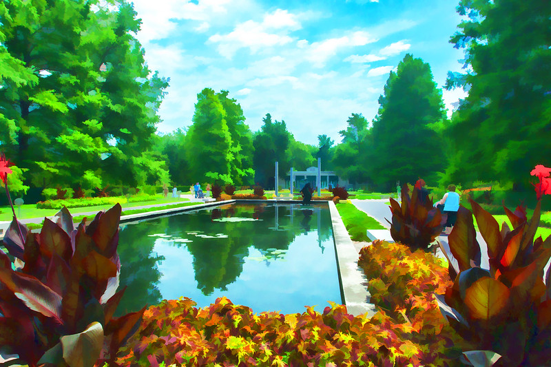 Climatron Reflecting Pool