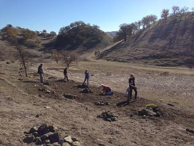 Fossil Hill Planting, December 21, 2013