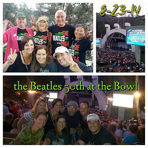 2014 0824 Hollywood Bowl Beatles 50th at the Bowl