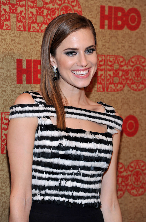 . Allison Williams arrives at the HBO Golden Globes after party at the Beverly Hilton Hotel on Sunday, Jan. 12, 2014, in Beverly Hills, Calif. (Photo by Richard Shotwell/Invision/AP)