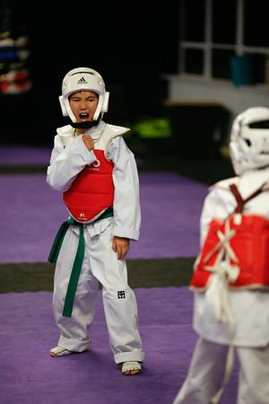 Colson Taekwondo - Oct. 2014
