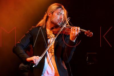 New York, NY - February 18: David Garrett, performs at the David Garrett Concert Presented by Marantz at Best Buy Theater.