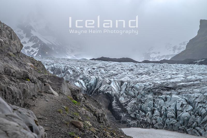Svinafellsjokull Glacier Photography by Wayne Heim