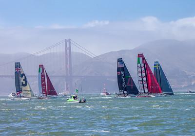 Louis Vuitton Cup - San Francisco - 2012 #KW-74