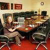 Manager Aisling McShane pictured in the Bravo Room which can be used as a Board Room Facility. 06W36N12